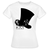 T-Shirts ~ Women's T-Shirt ~ Official Hat Films (Front Black)