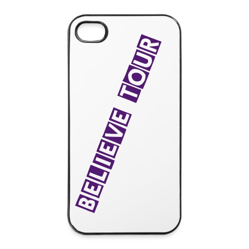 Justin bieber's 'Believe Tour' Iphone cases (Purple)  - iPhone 4/4s Hard Case