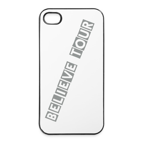 Justin bieber's 'Believe Tour' Iphone cases (grey)  - iPhone 4/4s Hard Case