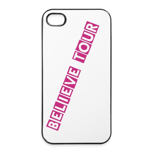 Justin bieber's 'Believe Tour' Iphone cases (pink)  - iPhone 4/4s Hard Case