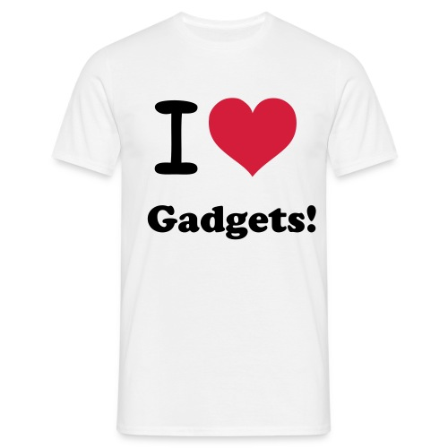 I Love Gadgets - Men's T-Shirt