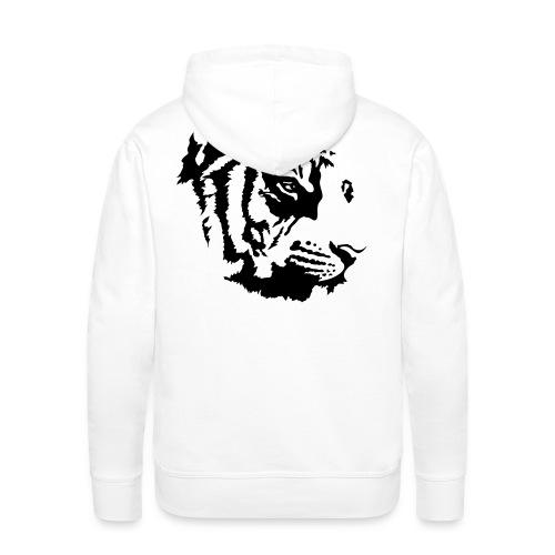 White Tiger  - Men's Premium Hoodie