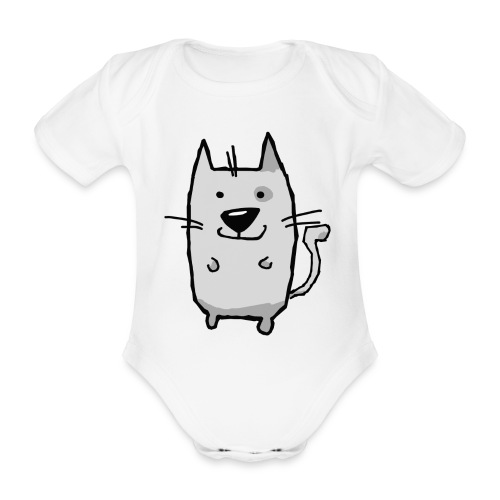 houndMO - Baby Body - Baby Bio-Kurzarm-Body