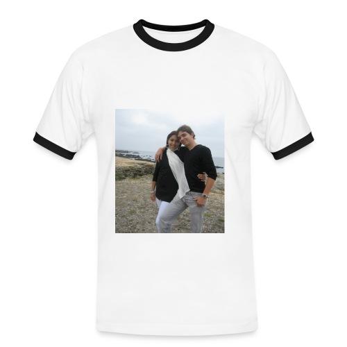 Couple ForEver Homme - T-shirt contrasté Homme