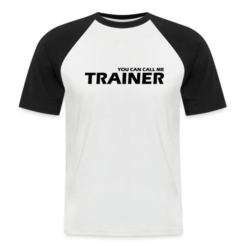 Trainer - Männer Baseball-T-Shirt