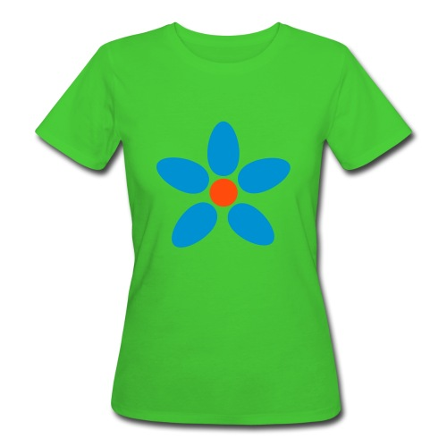Kwiatuszek - Ekologiczna koszulka damska