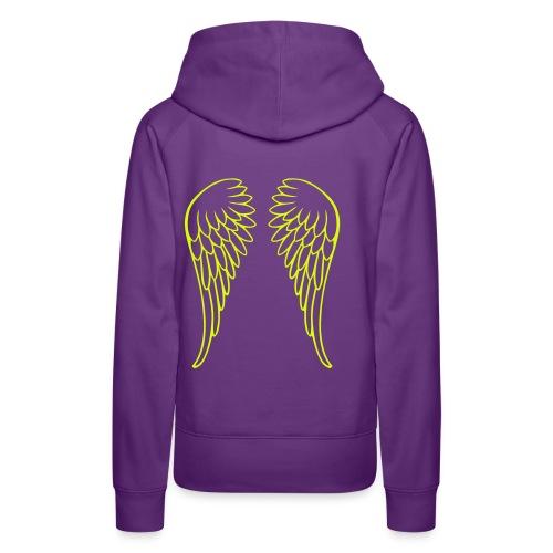 Flügel - Frauen Premium Hoodie