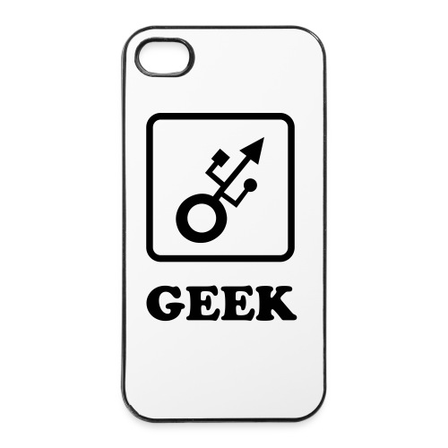 Coque Iphone Geek USB - Coque rigide iPhone 4/4s