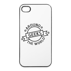 Geeks around the world Coque Iphone - Coque rigide iPhone 4/4s