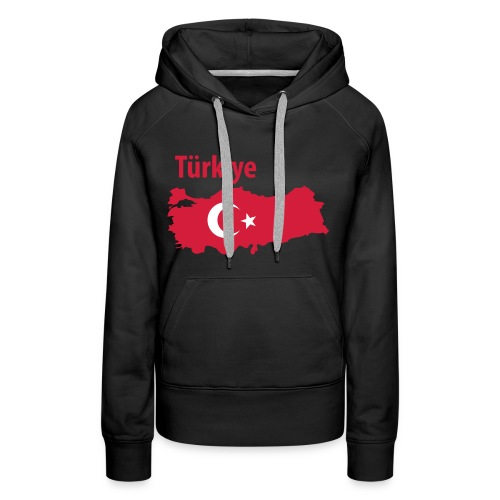I Love Turkiye - Vrouwen Premium hoodie