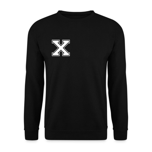 X back zebra - Mannen sweater