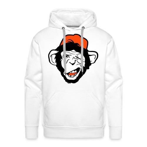 Crazy monkey - Mannen Premium hoodie