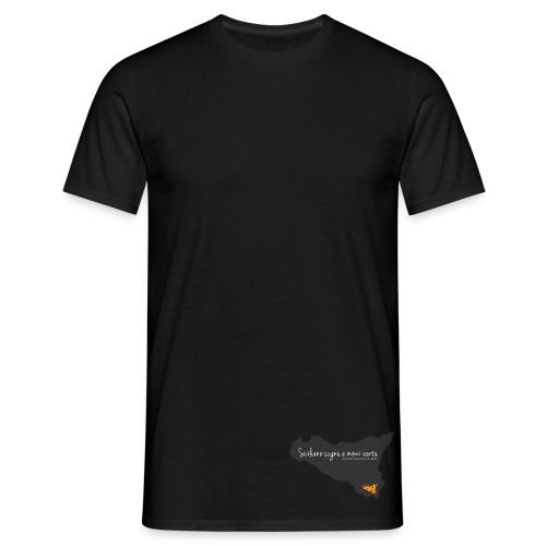 Sicilia in Metrò (M) - Maglietta da uomo