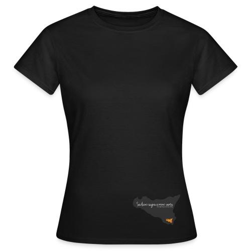 Sicilia in Metrò (F) - Maglietta da donna
