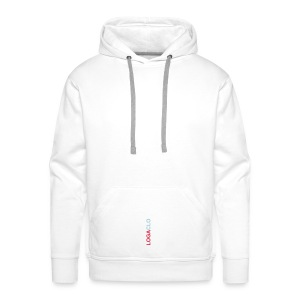 Naughty LOGACLO SkyBlue - Men's Premium Hoodie