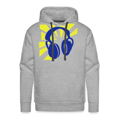 No Words, just music - Mannen Premium hoodie