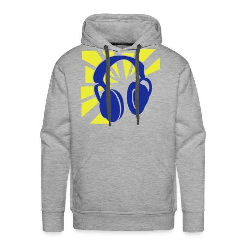 No Words, just music - Mannen Premium hoodie