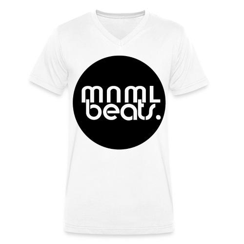 Unisex V-Shirt mnml beats - Männer Bio-T-Shirt mit V-Ausschnitt von Stanley & Stella