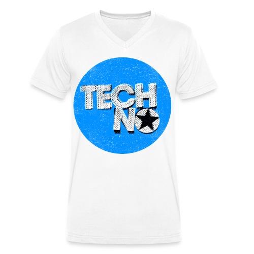 Unisex V-Shirt Tech No - Männer Bio-T-Shirt mit V-Ausschnitt von Stanley & Stella
