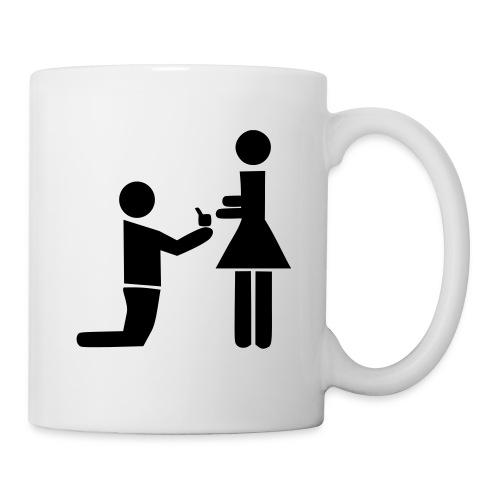 demande en mariage !! - Mug blanc