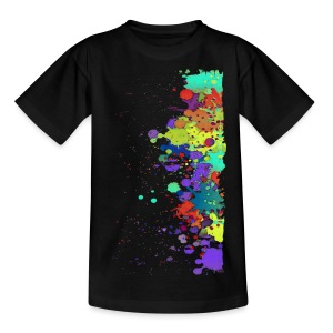 Splat Painting / Klecks Malerei | Teenager Shirt - Teenager T-Shirt