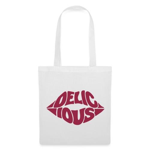 Delicious Kiss Tote Bag - Tote Bag