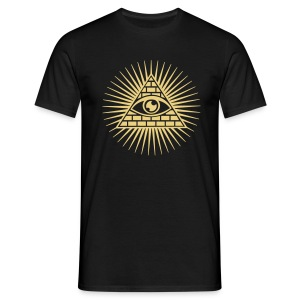 illu Eye - Mannen T-shirt