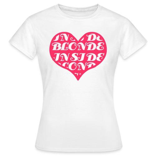Blonde inside - Maglietta da donna