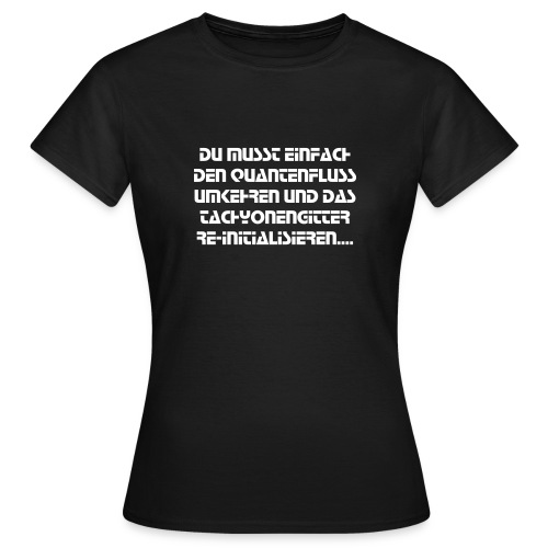 SF-Talk - Frauen T-Shirt
