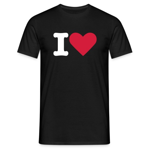 Mens I Love 1 - Men's T-Shirt