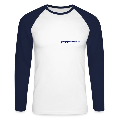 peppermoon T#4 - Men's Long Sleeve Baseball T-Shirt