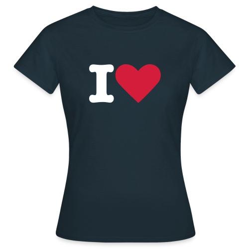 Ladies I Love 1 - Women's T-Shirt