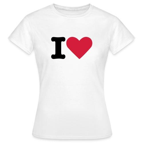 Ladies I love 2 - Women's T-Shirt