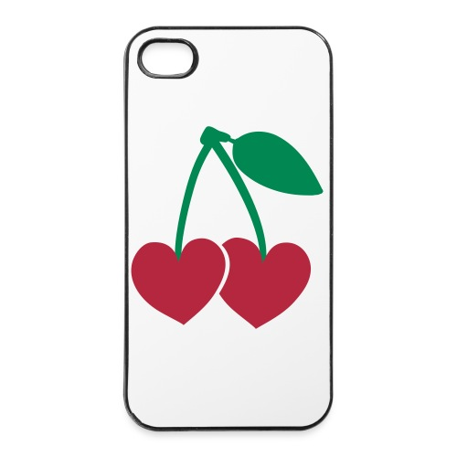 iPhone 4/4s case cherry - iPhone 4/4s hard case