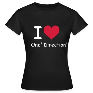 I love One Direction  - T-shirt Femme