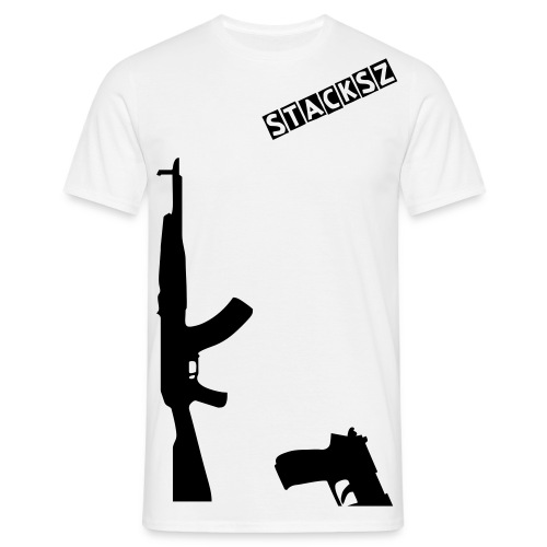 Fully Strapped shirt #STACKSZ - Mannen T-shirt