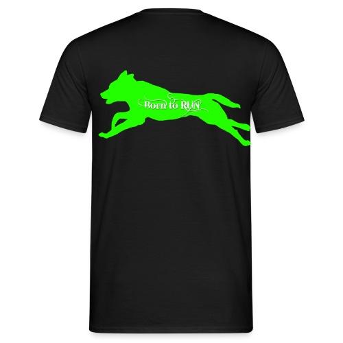 Born-to-RUN Shirt GREEN - Männer T-Shirt