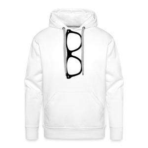 Glasses - Mannen Premium hoodie