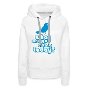 Twitter - Vrouwen Premium hoodie