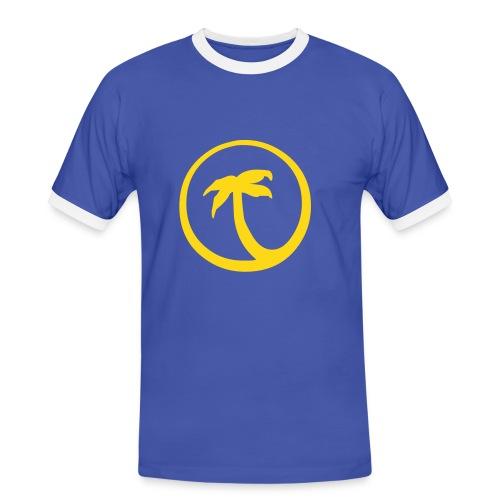 Travel-Shirt - Männer Kontrast-T-Shirt