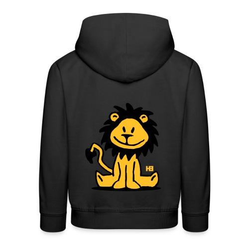 sweat enfant lion - Pull à capuche Premium Enfant