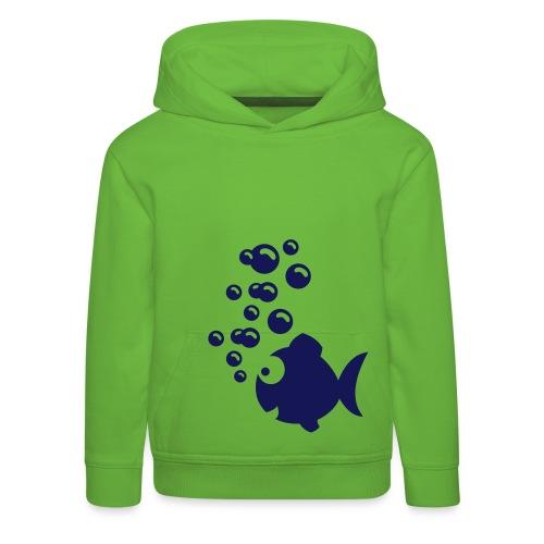 fish - Pull à capuche Premium Enfant