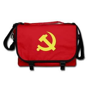 Chinese Hammer & Sickle Shoulder Bag - Shoulder Bag