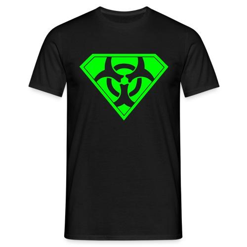 Super Biohazard - Neongrön - T-shirt herr