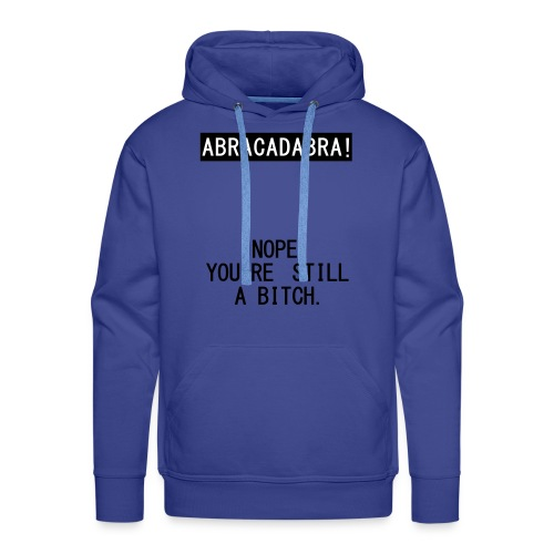 nope vest - Mannen Premium hoodie