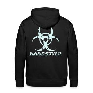 Hardstyle Biohazard - Reflex - Premiumluvtröja herr