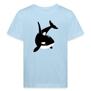 tier t-shirt orca orka wal killer whale delphin dolphin delfin shark hai - Kinder Bio-T-Shirt