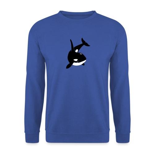 tier t-shirt orca orka wal killer whale delphin dolphin delfin shark hai - Männer Pullover