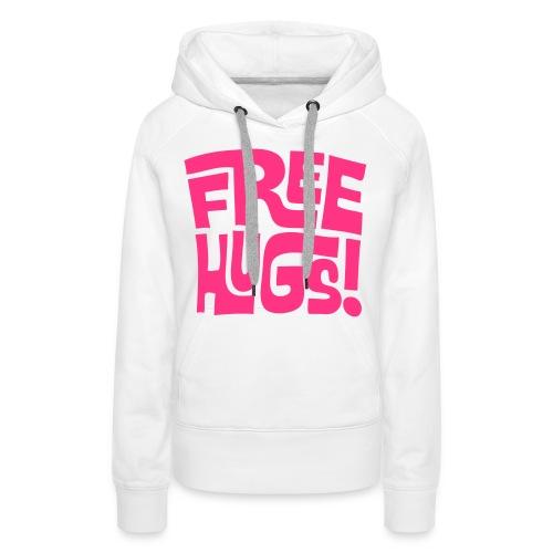 Vrouwensweater FreeHugs - Vrouwen Premium hoodie