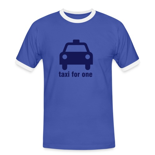 Taxi for One - Men's Ringer Shirt
